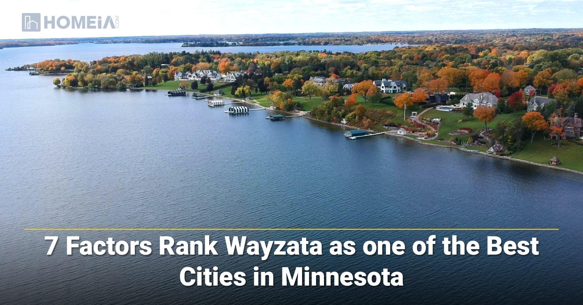 7 Factors Rank Wayzata, MN as One of the Best Cities for Living in 2021